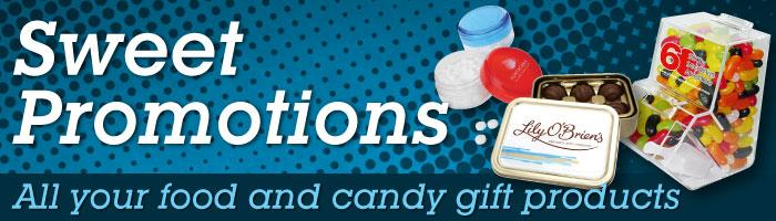 Sweet Promotions - Food and Candy Gifts